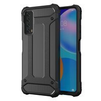 Hybrid Armor Case Tough Rugged Cover for Huawei P Smart 2021 black