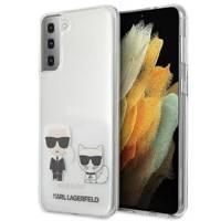 Karl Lagerfeld KLHCS21SCKTR S21 G991 hardcase Transparent Karl & Choupette