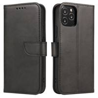 Magnet Case elegant bookcase type case with kickstand for Oppo A73 black