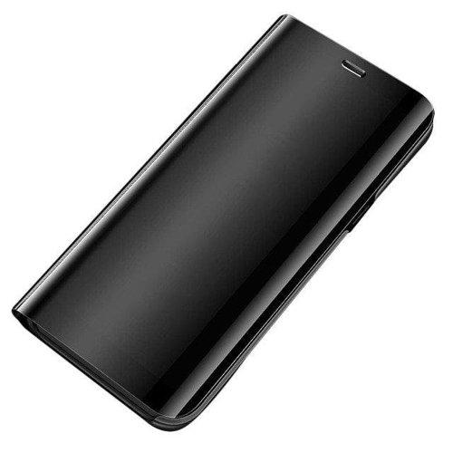 Clear View Case futerał etui z klapką Samsung Galaxy A51 czarny