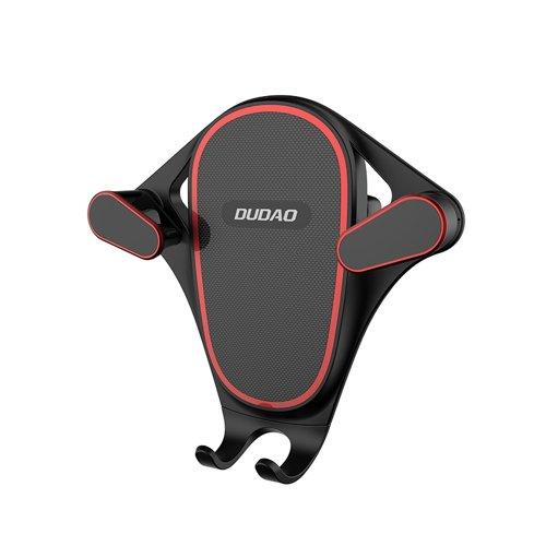 Dudao grawitacyjny uchwyt samochodowy na kratkę wentylacyjną nawiew czarny (F5S black)